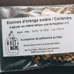 écorce orange coriandre