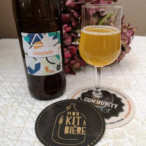 dégustation biere kit orange blanche