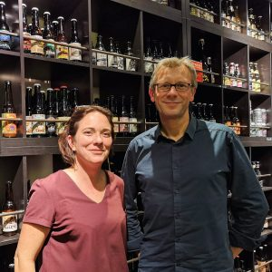 Caroline Gauthier Neyrinck et Christophe Uliasz happy dreche